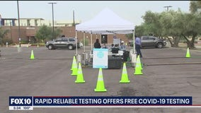 City of Phoenix teams up with lab to provide free COVID-19 tests
