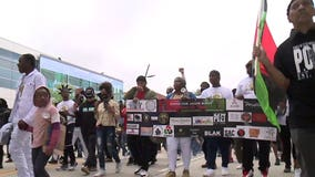 'We want justice:' Jacob Blake's family holds Milwaukee march, rally