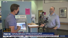 Postal Service hiring holiday help in the Valley