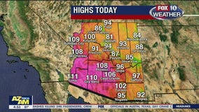 Excessive heat warning, pollution advisory issued for metro Phoenix