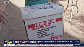 Arizona Boardwalk, United Food Bank team up for food drive this Labor Day weekend