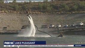 Labor Day fun at Lake Pleasant