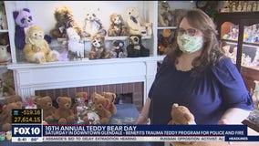 16th Annual Teddy Bear Day to benefit Trauma Teddy Program for police, fire