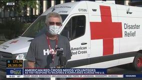 American Red Cross in need of volunteers
