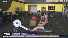 Hammer Crossfit in Peoria reopens under new guidelines