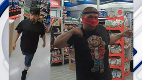 Phoenix police searching for two men wanted in separate Circle K burglaries