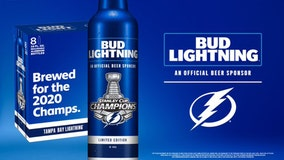 Bud Light offering Lightning-inspired bottle, free beer deal following Bolts' win