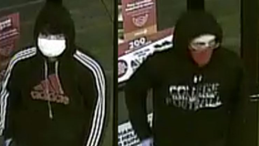 Surveillance video released of 2 men sought in Phoenix armed robbery on Sept. 1