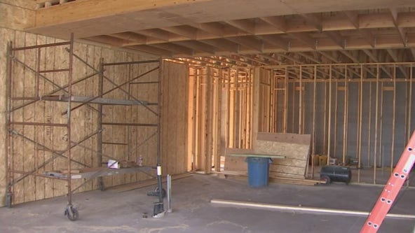 Lumber shortage causing price rise, pushing cost of homes higher