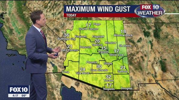 4 p.m. Weather Forecast -  9/29/20