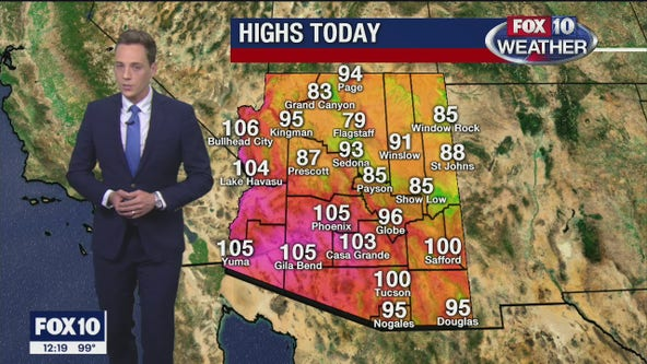 Noon Weather Forecast - 9/25/20