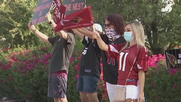 Rise Up, Red Sea: Fans cheer for AZ Cardinals, from a distance