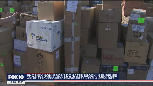 Phoenix nonprofit donates $500K in supplies to Papua New Guinea hospital