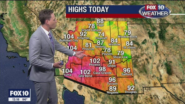Noon Weather Forecast - 9/22/20