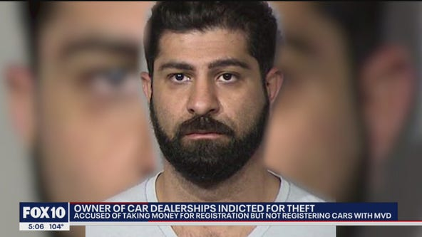 Used car dealership owner indicted on fraud and theft