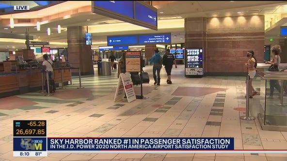 Phoenix Sky Harbor ranked first in passenger satisfaction