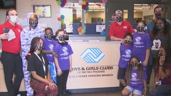 Phoenix 20-30 Club donates 10,000 masks to the Boys & Girls Clubs of the Valley