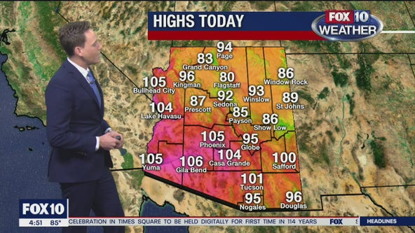 Morning Weather Forecast - 9/25/20
