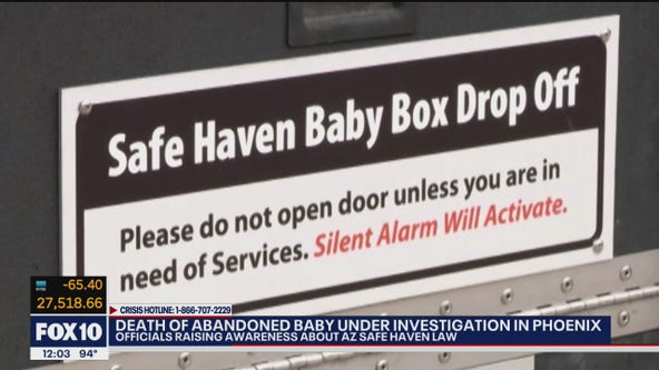 Safe Haven: Officials raise awareness after infant found dead