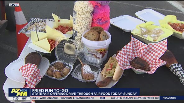 Fried food to go: State fair offering drive-thru fair food