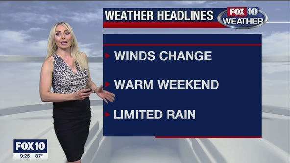 9PM Weather Forecast - 9/11/2020