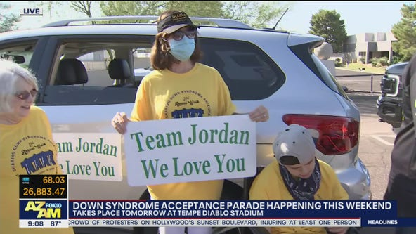 Down syndrome acceptance parade happening Sept. 26 in Tempe