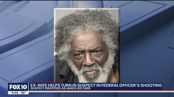Former wife helps turn in federal courthouse shooting suspect