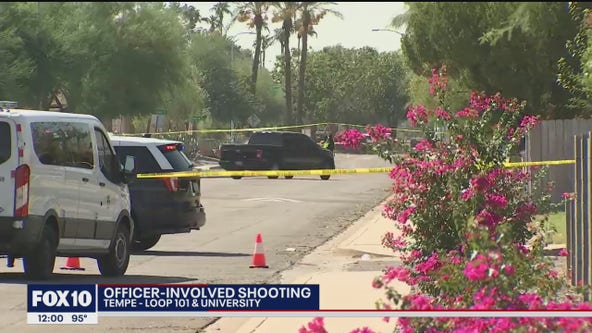 Mesa police investigating officer-involved shooting in Tempe
