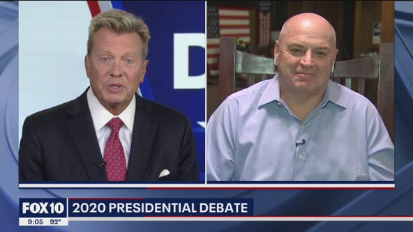 Arizona political consultant talks first 2020 presidential debate
