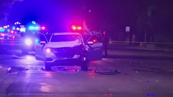 Child critically injured in crash near Camelback Road and 43rd Avenue