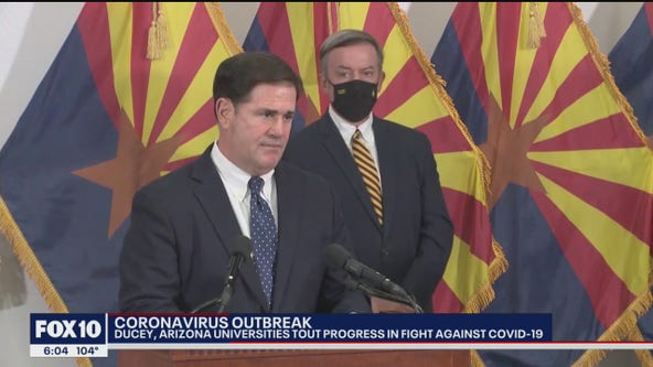 Ducey announces funding for rapid test to be produced by ASU