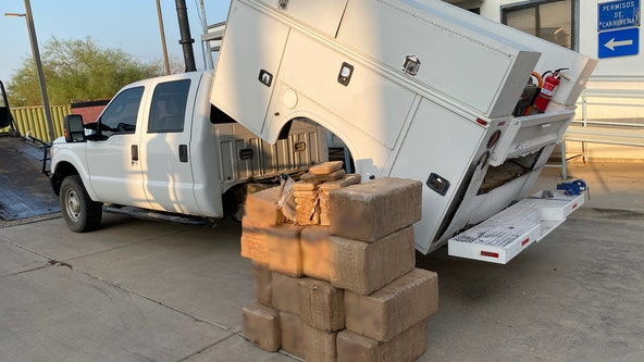 Arizona Border Patrol seizes $1.4 million in meth from work truck