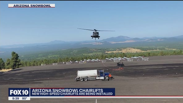 Arizona Snowbowl prepares for winter season with new additions