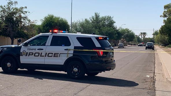 Mesa police investigating reports of officer-involved shooting near University and Evergreen in Tempe