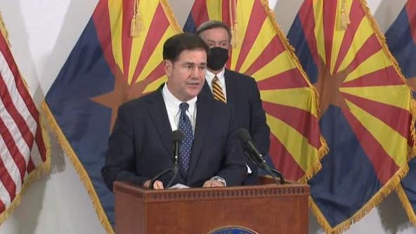 Gov. Ducey announces $14M for universities' response to COVID-19, rapid testing