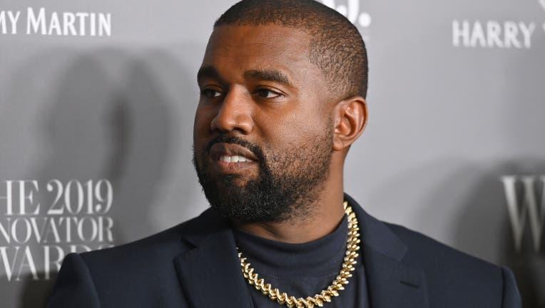 Rapper Kanye West, in a photo taken in 2019
