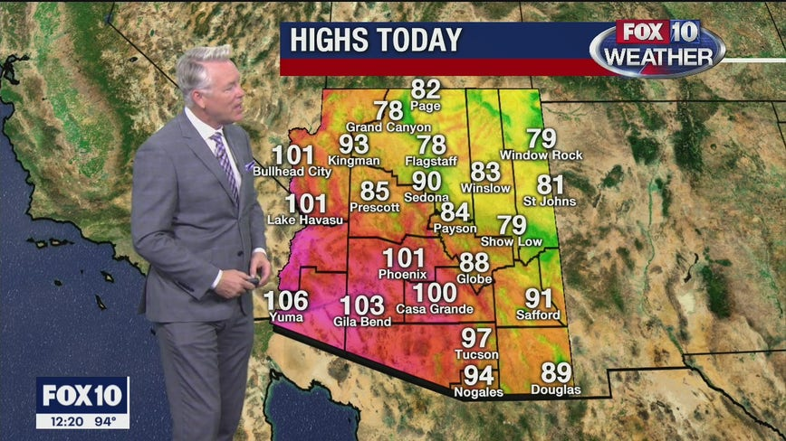 Noon Weather Forecast - 9/29/20