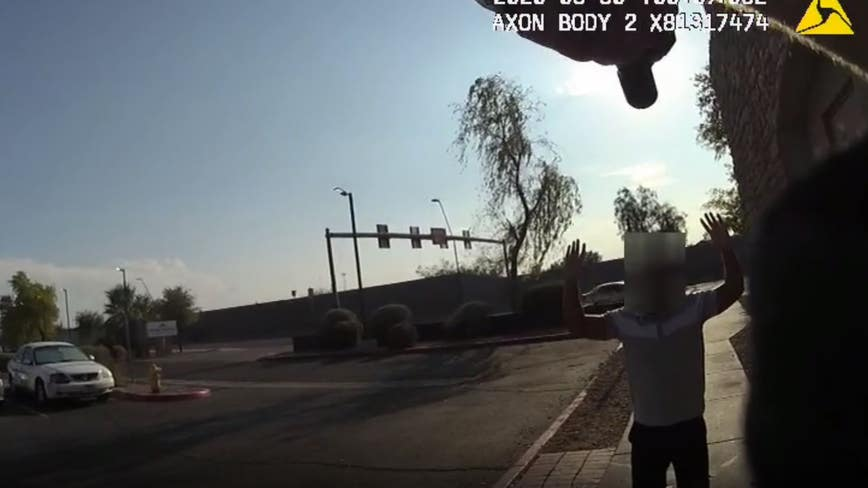 Black man held at gunpoint by Arizona officer seeks $2.5M