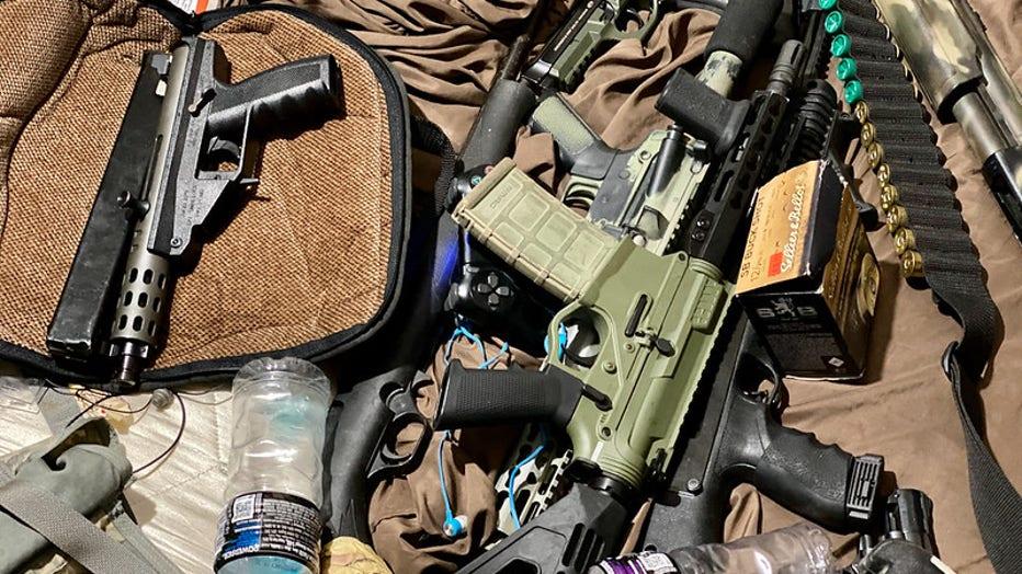 Operation Snake Eyes firearms
