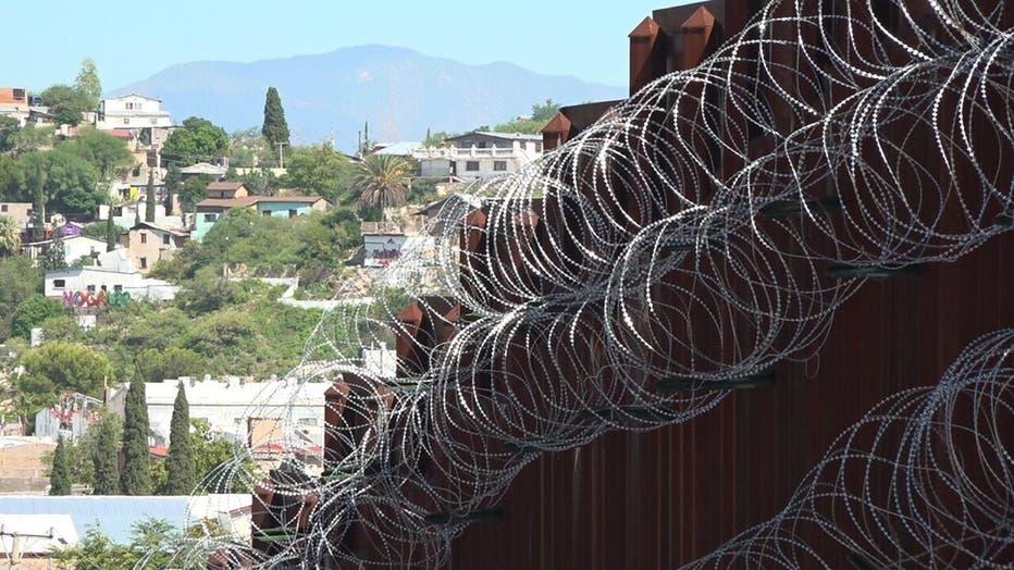 border fence nogales, az
