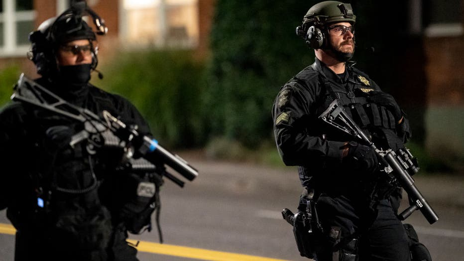 2a9aa1b4-Portland Reacts After Fatal Shooting During Violent Night Of Protests