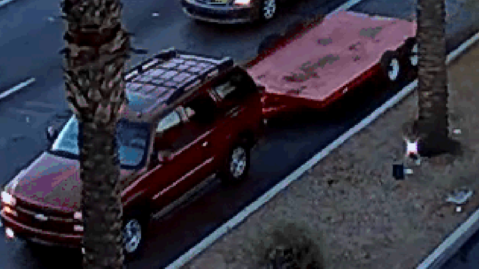 McQueen fatal hit and run suspect vehicle