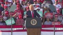 President Trump holds 'Make America Great Again' rallies in Prescott, Tucson