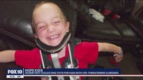 Gilbert boy collecting toys for kids with life-threatening illnesses