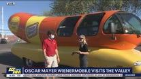 Oscar Mayer Wienermobile rolls through the Valley