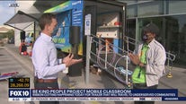 Nonprofit unveils mobile classroom to travel to underserved communities in Phoenix