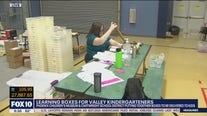 Phoenix Children's Museum giving learning boxes to kindergarteners