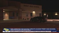 Teen arrested for making threats against Perry High School