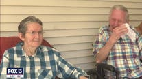 Married for 60 years, couple's seven-month COVID separation ends with tearful reunion