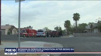 PD: Woman in serious condition after being shot in Phoenix